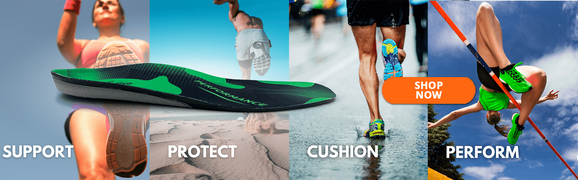 FootActive Performance Insole Banner
