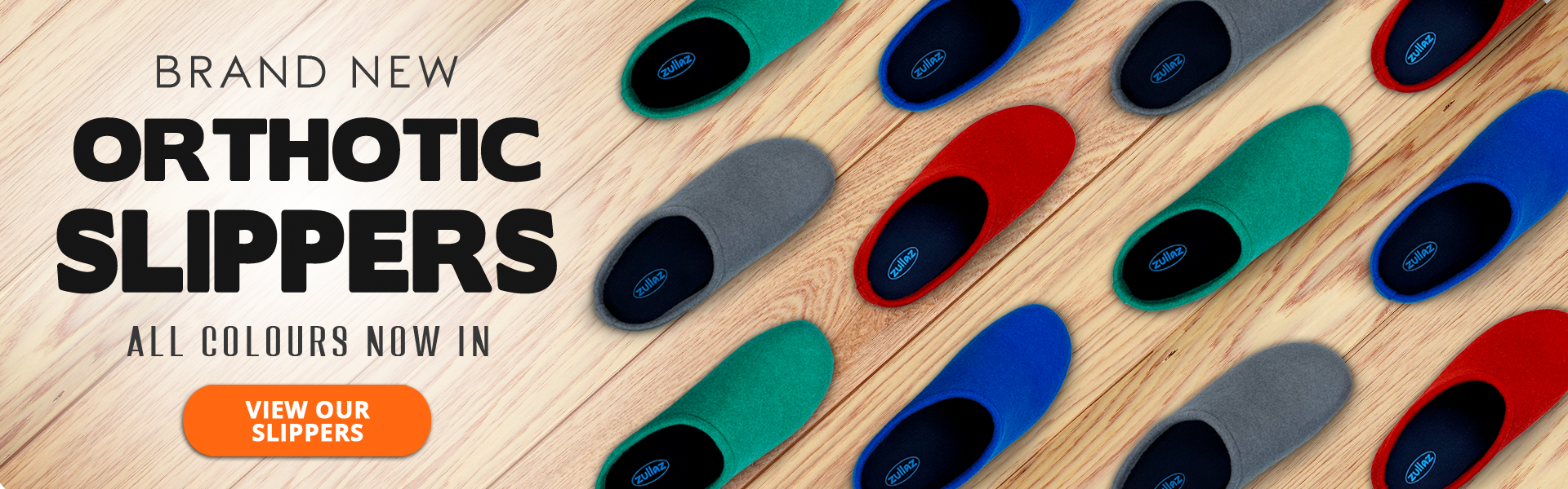 Step into our Supportive Slippers!