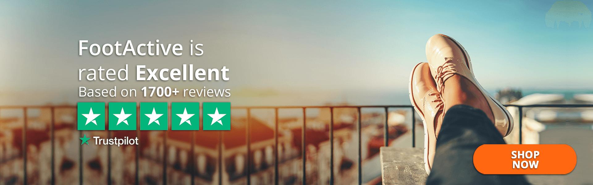 FootActive Trustpilot Rating 5*
